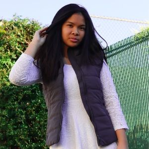 Aeropostale Jackets & Coats - NEW Puffer Vest w/ Fur Hood Trimming